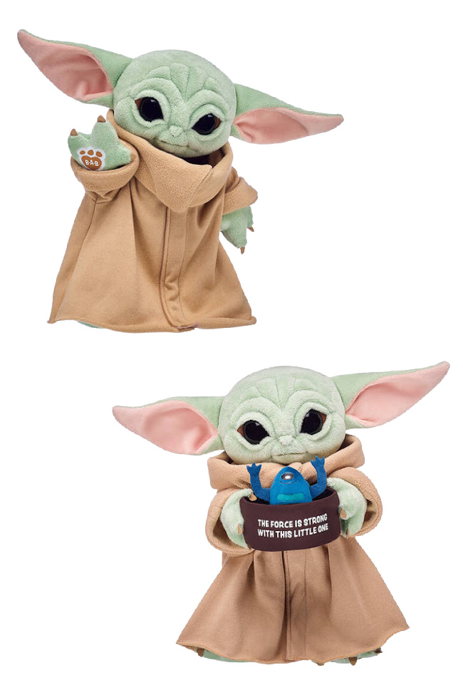There's A Baby Yoda Build-A-Bear Now And My Kids Need It