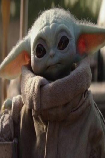 A picture of Baby Yoda, the feature of ChewieCatt's Baby Yoda song.