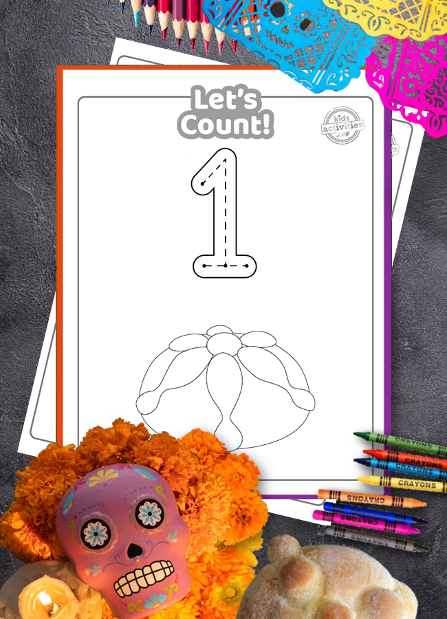 - Learn How To Count With Beautiful Day Of The Dead Printables!