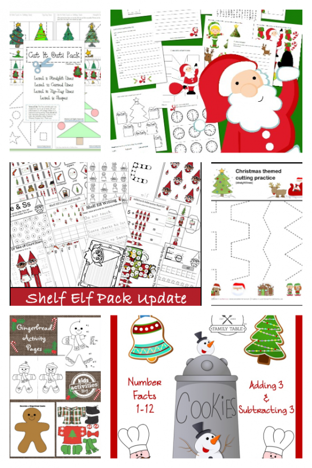 Educational Christmas Worksheets