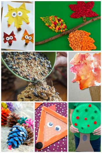 Fall crafts for kids featured on Kids activities Blog