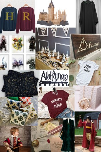 Etsy's Magical Harry Potter Shop Merch And More