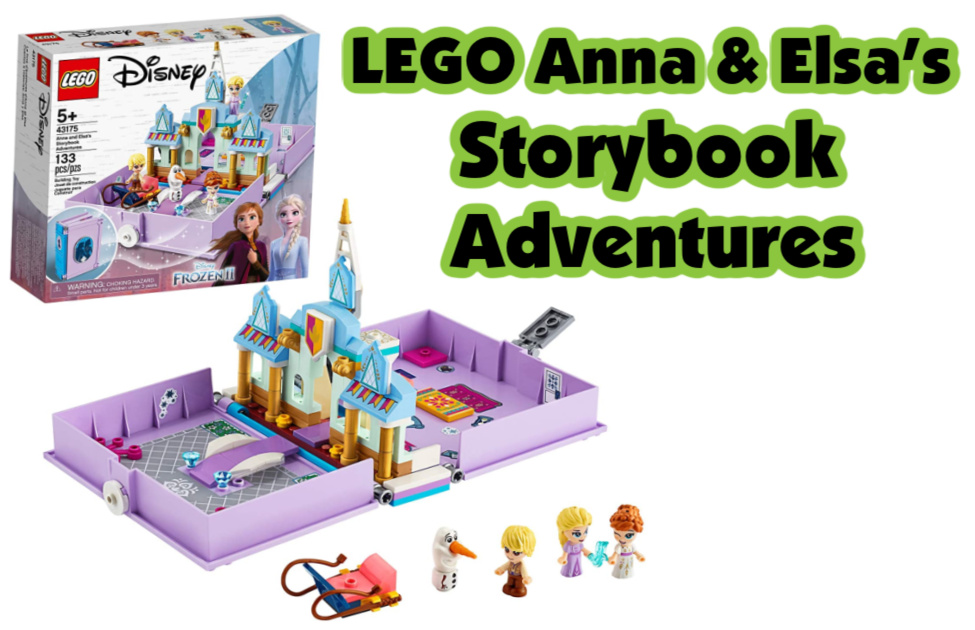 LEGO Anna & Elsa's Storybook Adventures-- One of the best Christmas gifts for kids this year. Includes micro dolls, a castle, and a sleigh.