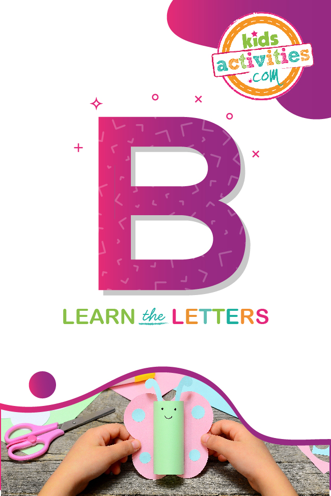 Learn the letter B with Kids Activities Blog