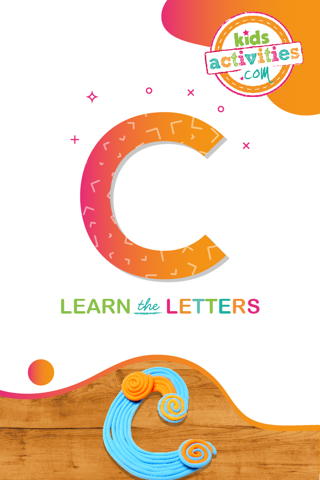 Learn the letter C with Kids Activities Blog