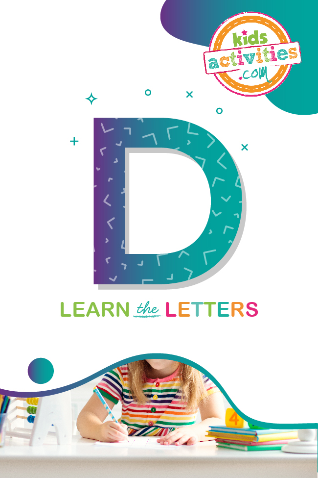 Learn the letter D with kids activities blog