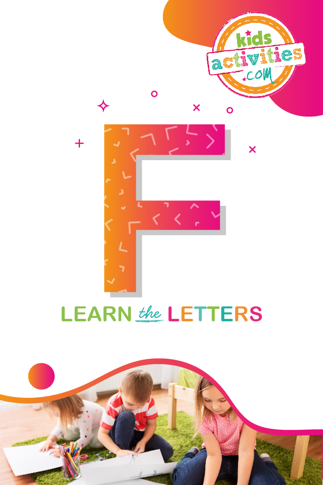 Learn the letter F with Kids Activities Blog