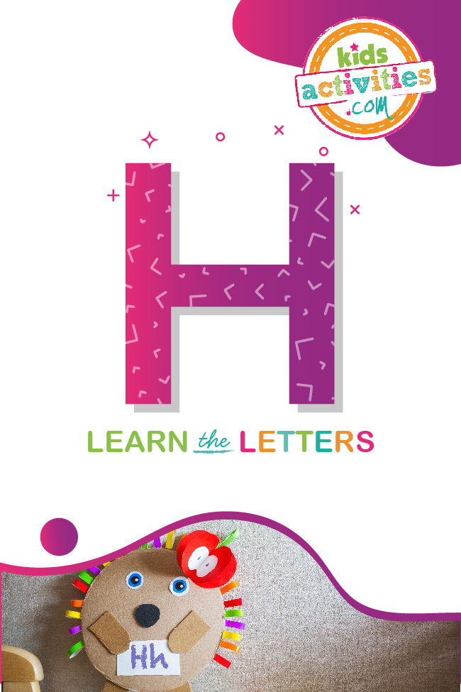 Learn the letter H with Kids Activities Blog