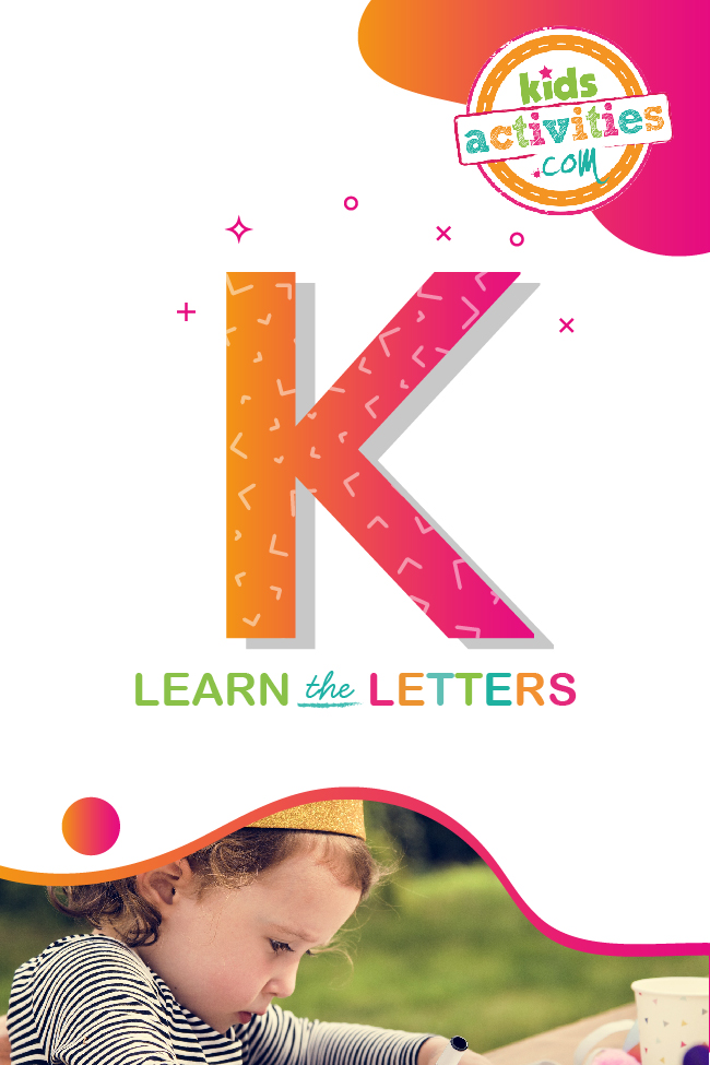 Learn the letter K with Kids Activities Blog