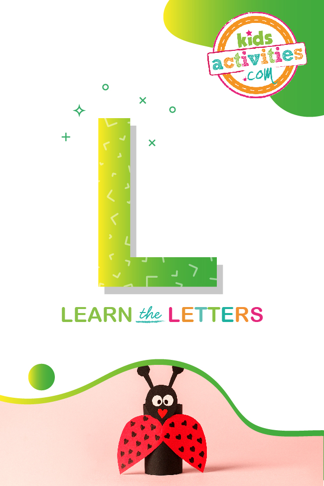 Learn the letter L with Kids Activities Blog