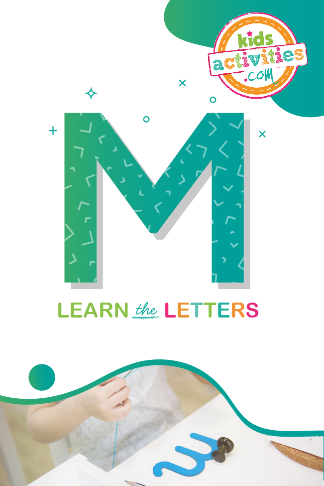 Learn the letter M with Kids Activities Blog
