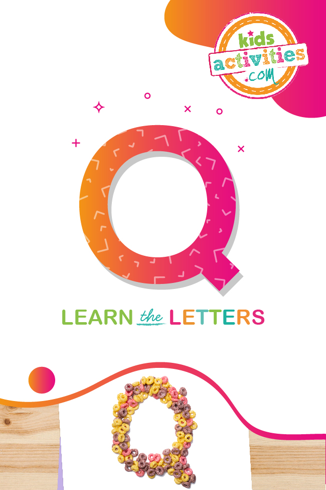 Learn the letter Q with kids activities blog