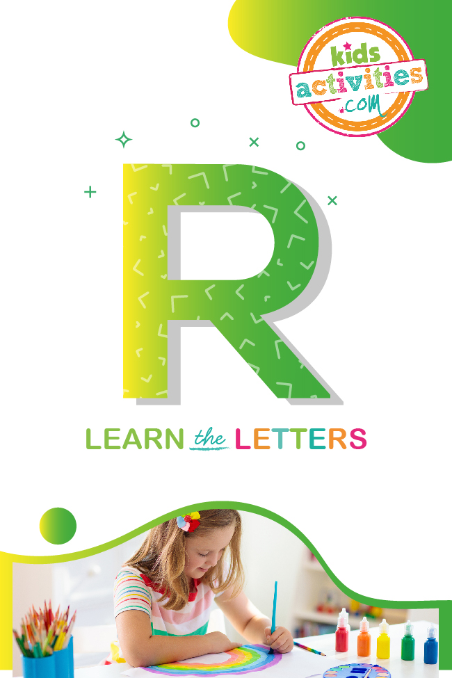 Learn the letter R with Kids Activities Blog