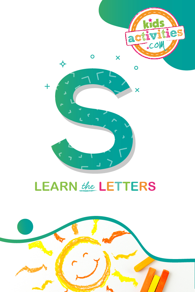 Learn the letter S with kids activities blog
