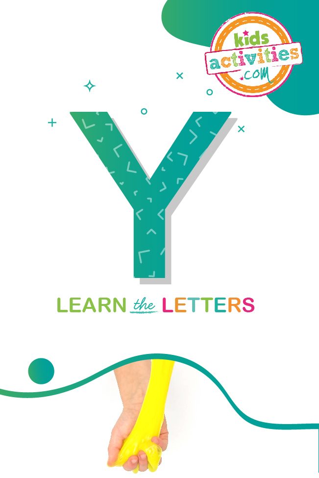 Learn the letter Y with Kids activities blog