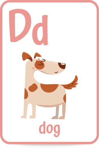 Words that start with the letter d like dog