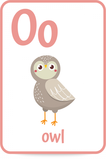 Words that start with the letter O like owl