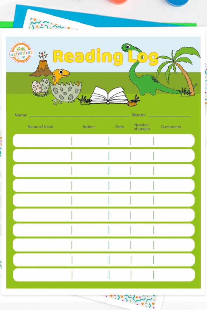 These free printables are a great way to keep track of what your child is reading!