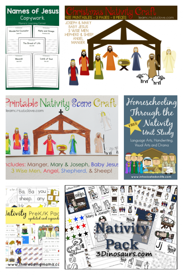 Nativity Christmas Printables