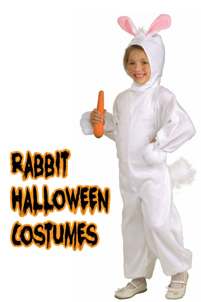 This rabbit costume if one of the top kids costumes of 2020!