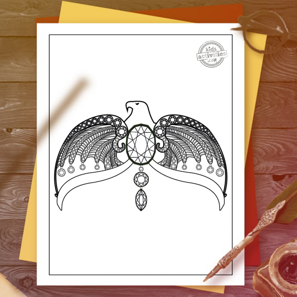 The Best Free Harry Potter Ravenclaw Coloring Pages