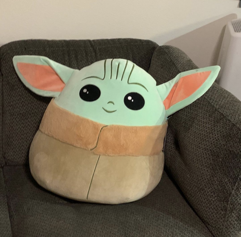 You Can Get a Baby Yoda Pillow at Costco And Now I Need One