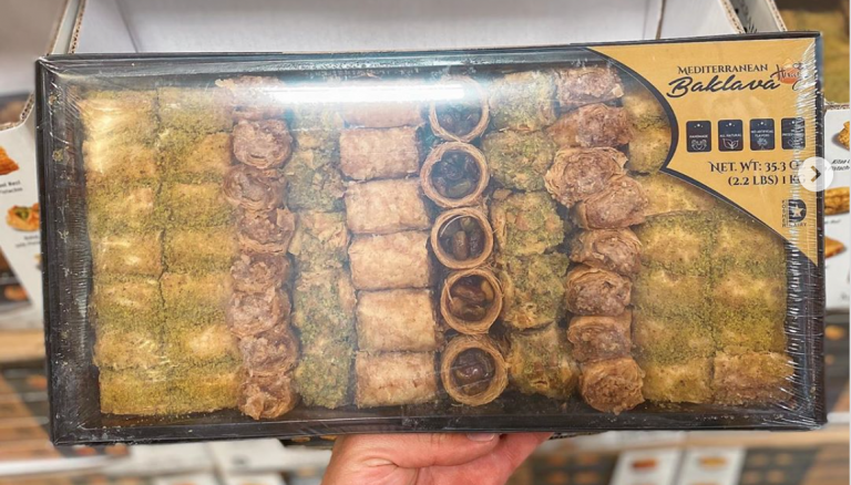 Costco is Selling a 2-Pound Tray of Baklava and I'm On My Way