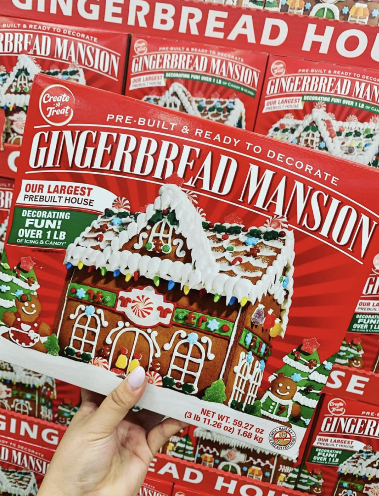 Costco Is Selling a Gingerbread Mansion For The Holidays and The Kids Are Going to Love It