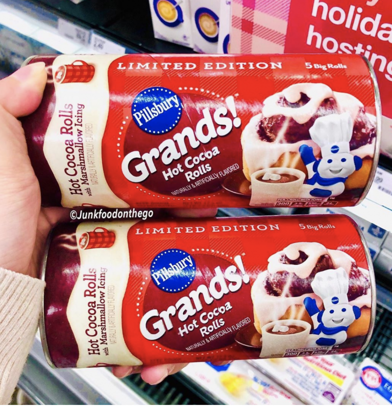 Pillsbury Hot Cocoa Cinnamon Rolls Are Back in Stores and I'm On My Way To Get Some