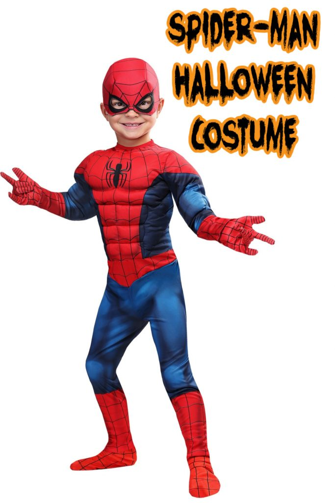 This Spider-Man costume is one of the top kids Halloween costumes from 2020.