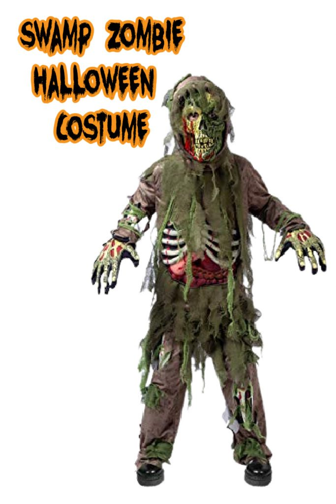 This swamp zombie costume is one of the top kids Halloween costumes for 2020!