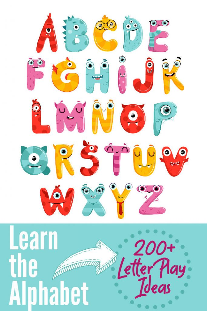alphabet for kids - learn abc letters on Kids Activities Blog