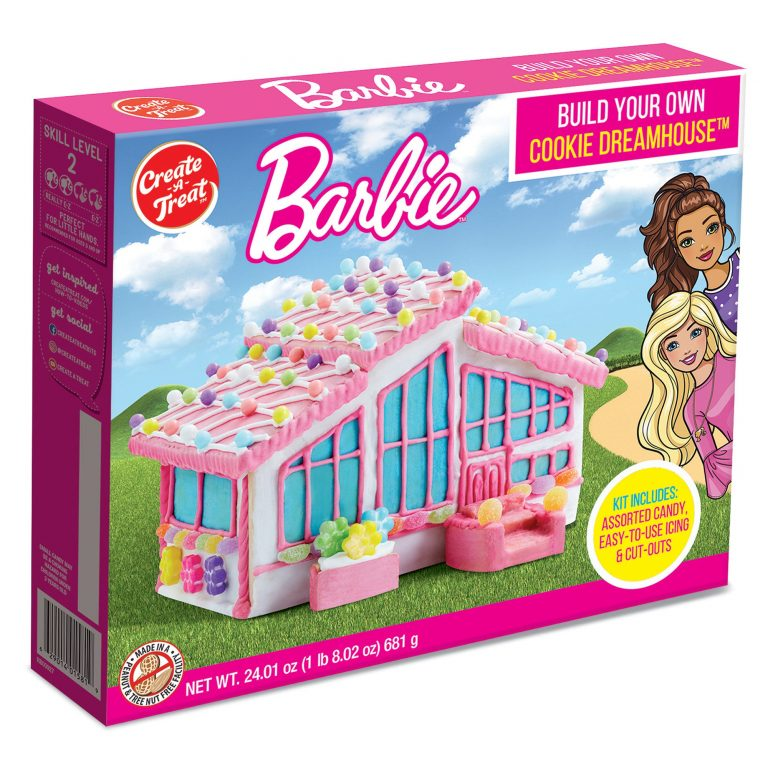 You Can Build A Barbie Cookie Dreamhouse And It Is So Pink