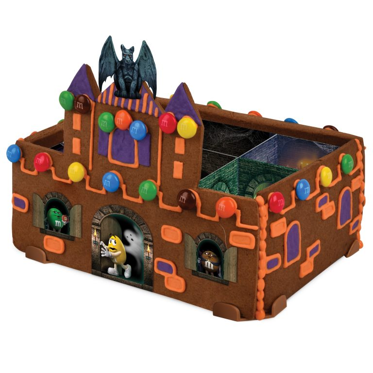 You Can Buy an M&M's Haunted Castle Cookie Kit and Make a Halloween House