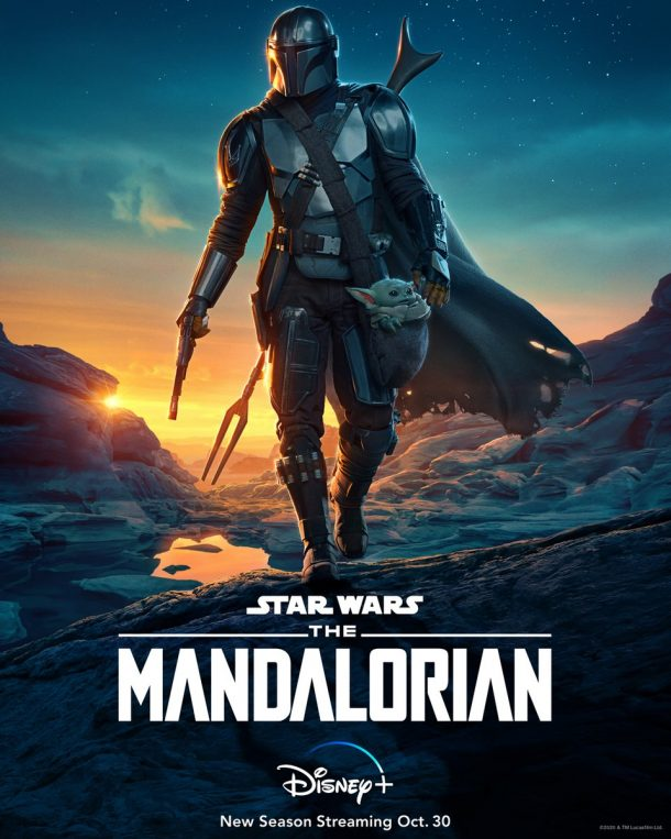 Star Wars The Mandalorin Season 2 official poster coming out on Disney+