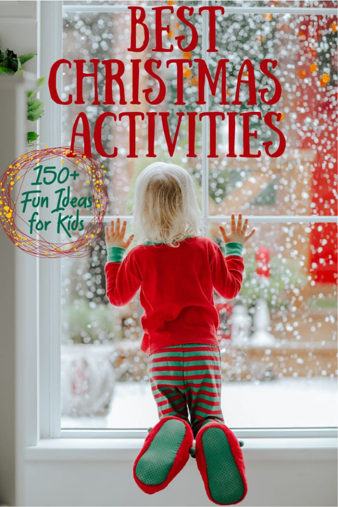 Christmas activities to do as a family.