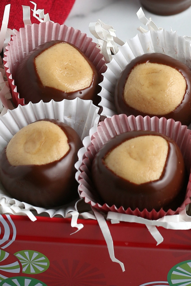 Holiday Gifts from the Kitchen: Buckeyes Recipe