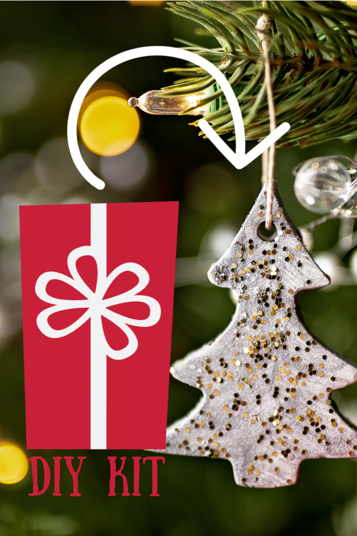 Give a Salt Dough Ornament Kit as a DIY Gift Kit this Holiday