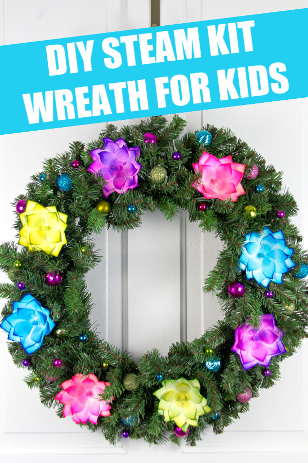 Holiday Wreath DIY Steam Kit To Make With Kids