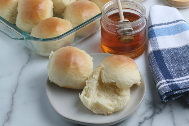 Homemade Dinner Rolls - Step enjoy warm, and then store leftovers in an airtight container