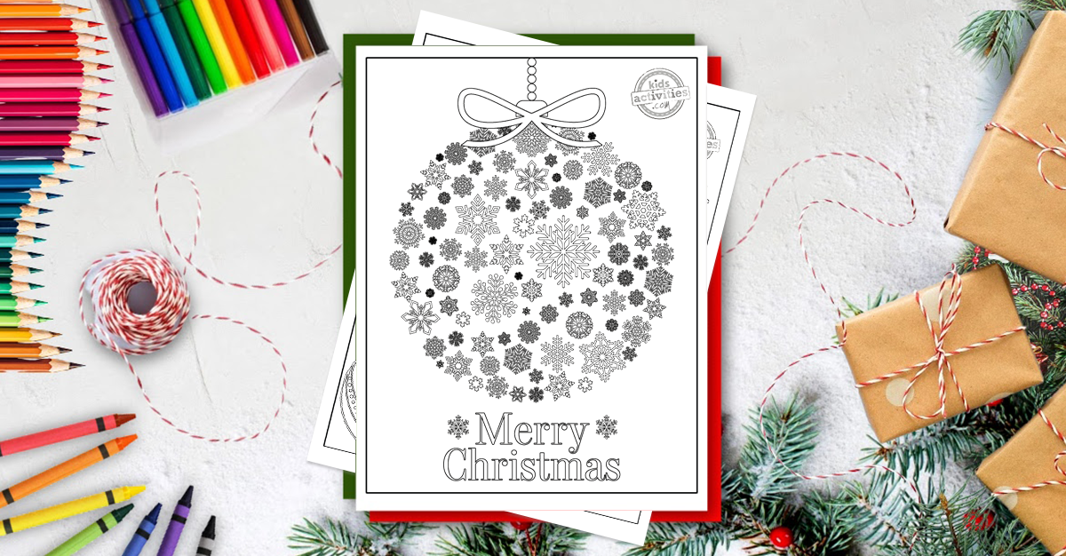 Enjoy These Free Christmas Coloring Pages For Adults
