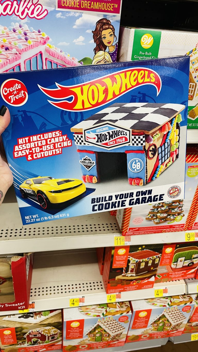 You Can Get A Hot Wheels Cookie Garage Kit For The Kid Who Loves Cars