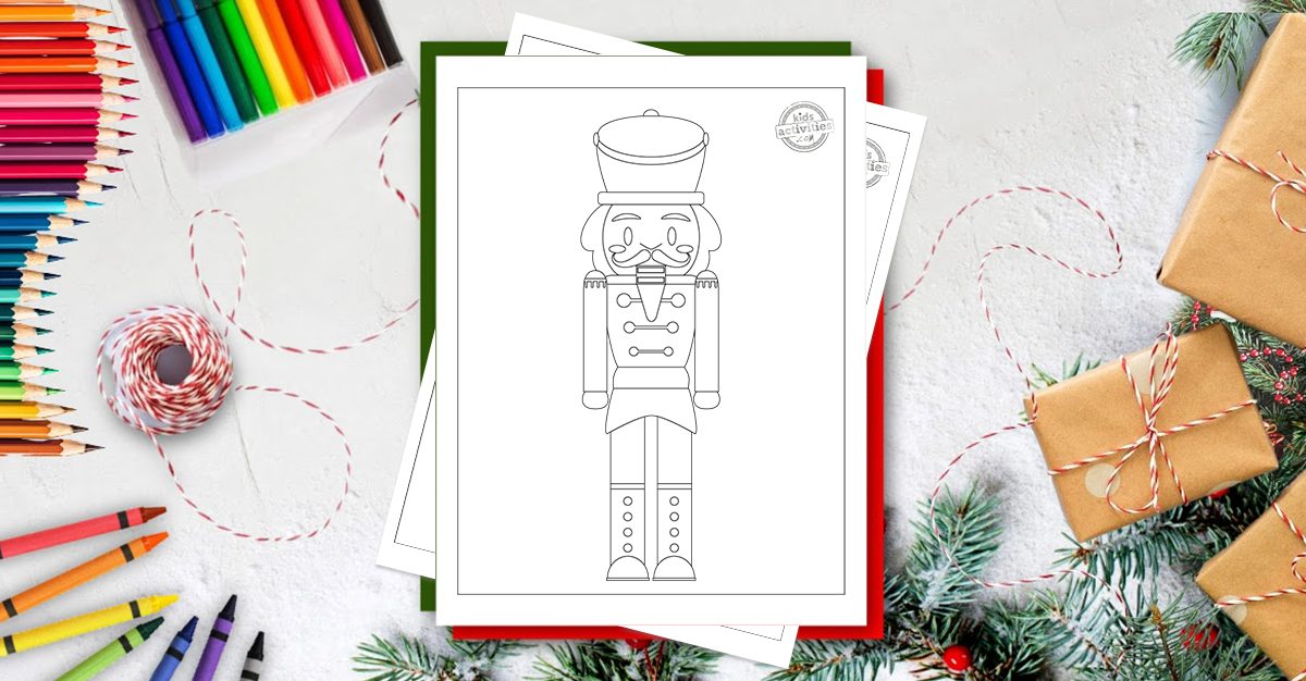 Free Printable Magical Nutcracker Coloring Pages For Kids