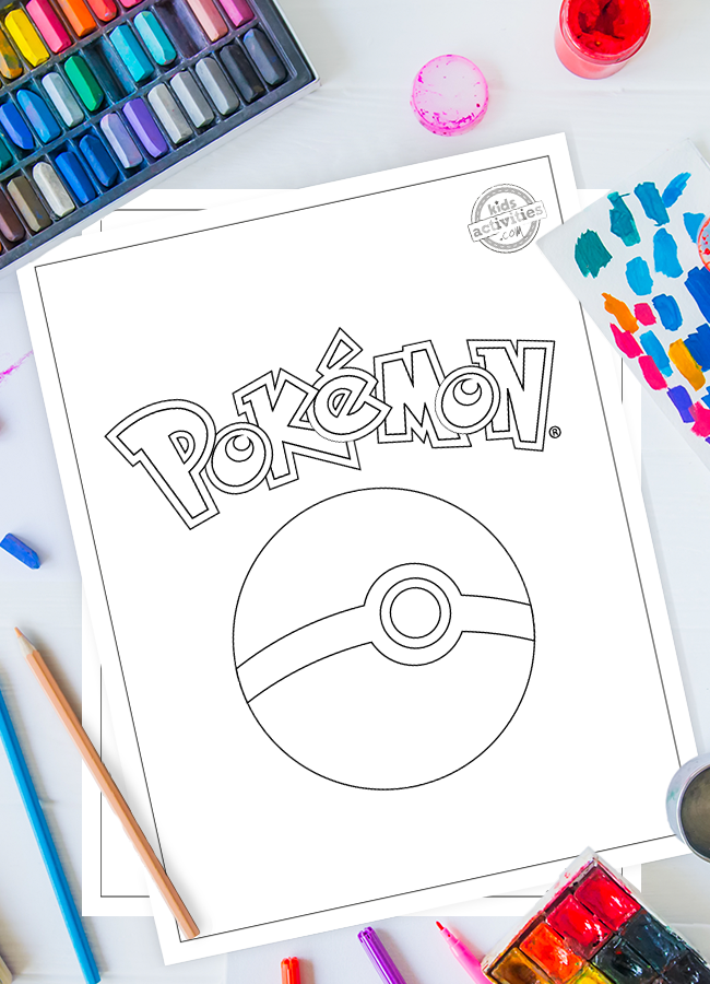 100+ Best Free Printable Pokemon Coloring Pages Kids Activities Blog