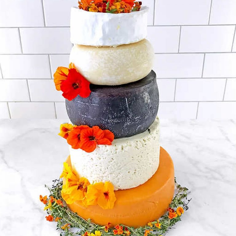 Costco Has A 5-Tier Cheese Wedding Cake For The Couple Who Really Loves Cheese