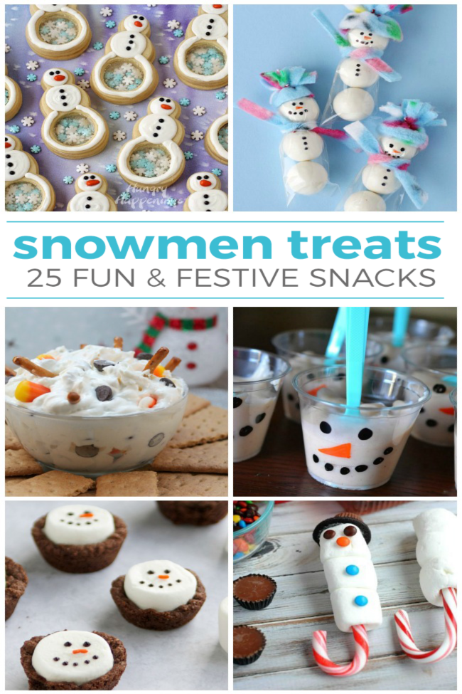 Edible snowman ideas