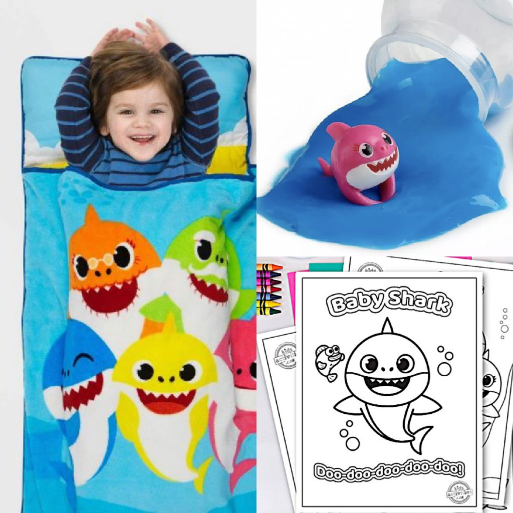 All Things Baby Shark from Kids Activities Blog - products, toys, slime, printables and more