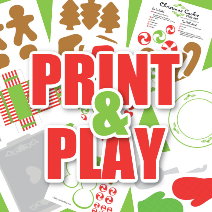 "Print and play - picture of printables below the words ""print and play"""