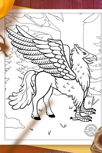 Harry Potter Magical Beasts Coloring Pages