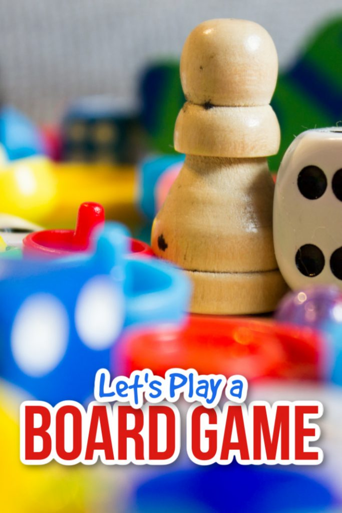 play a favorite board game as a family or with kids - Kids Activities Blog - board game pieces
